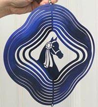 Blue Morgan Spinner
